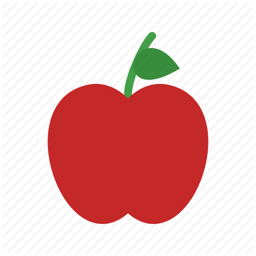 clip art library download Vector apples flat. Gardening colorful by iconbaandar