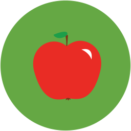 graphic free Apple icon myiconfinder. Vector apples flat