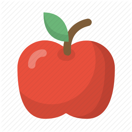 clip download Vector apples flat. Food emoji by flaticons