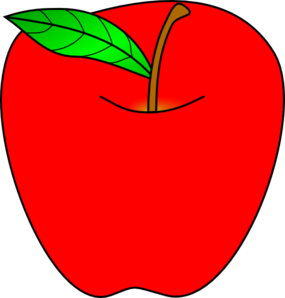 picture black and white download Vector apples red. Apple clip art at