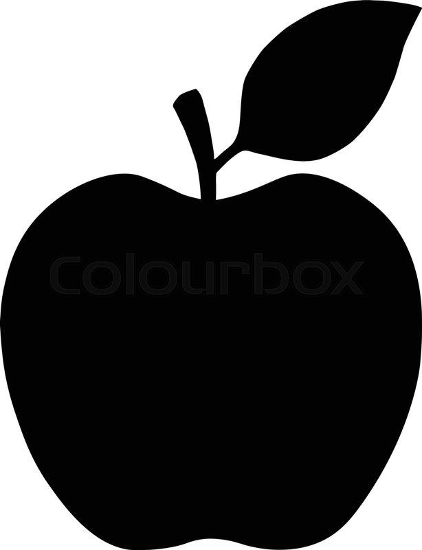 banner black and white download Apple icon free icons. Vector apples simple