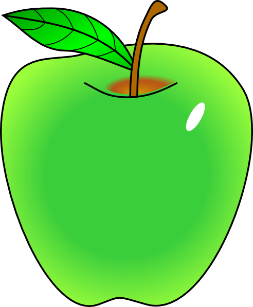 clip art library download Collection of free apple. Vector apples waste