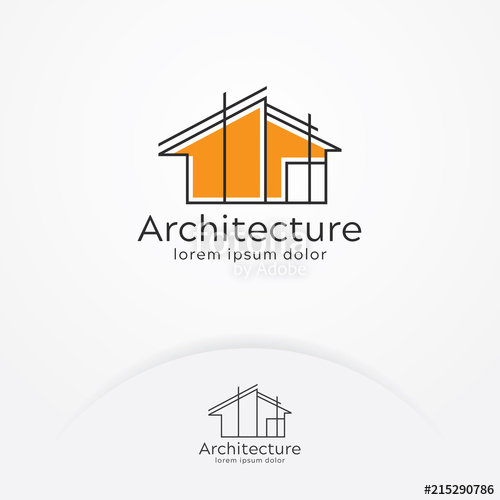 svg free library Vector architecture. Logo design construction company.