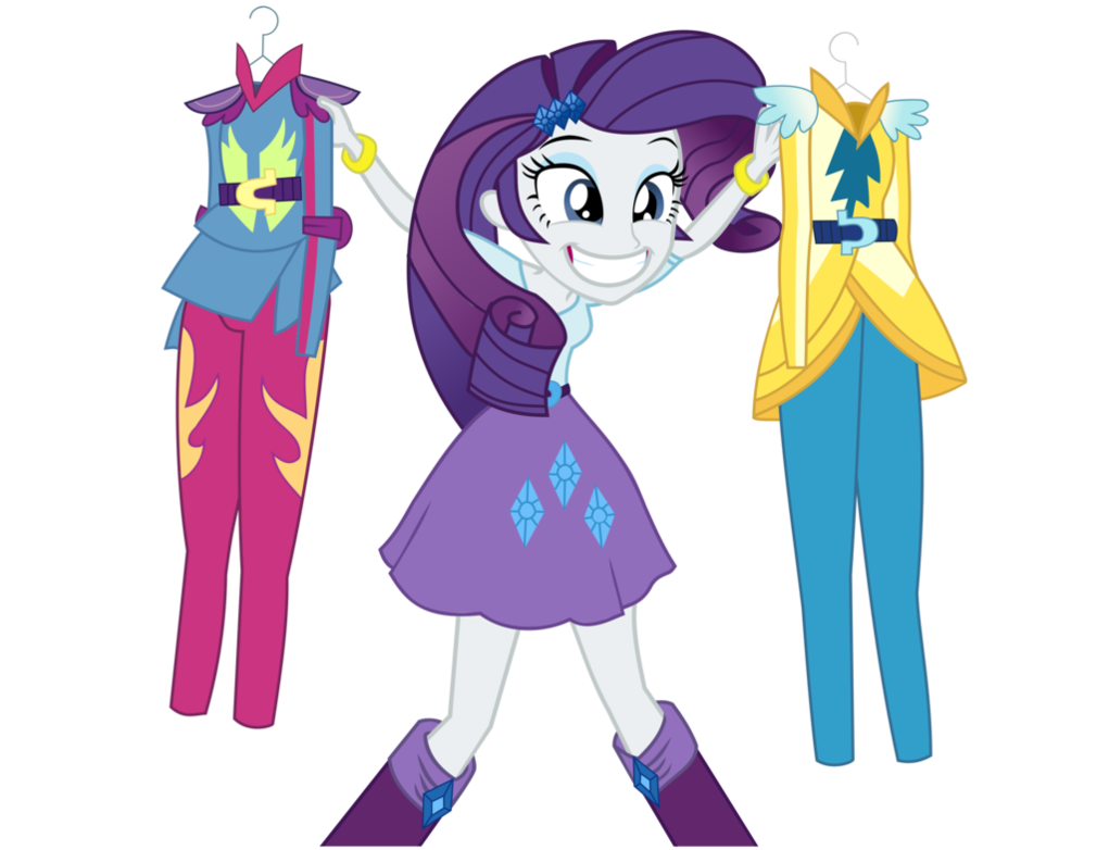 vector royalty free Vector costume human. Rarity by kehrminator on