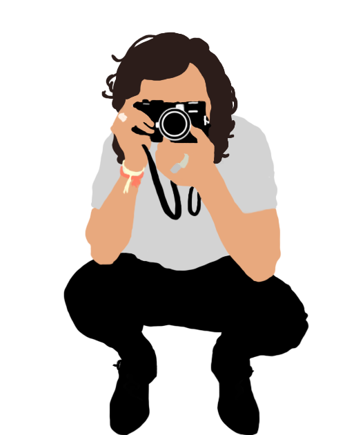 banner free download Vector bands person. Harry styles illustration by