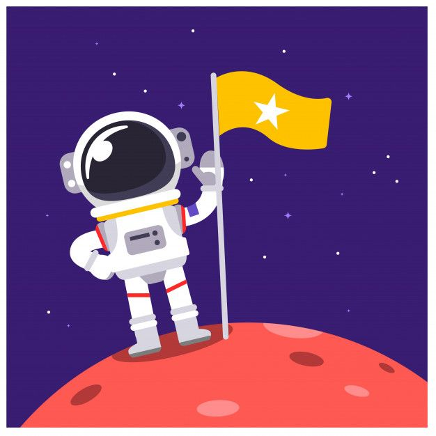 picture freeuse stock Vector astronaut.  illustration character animal