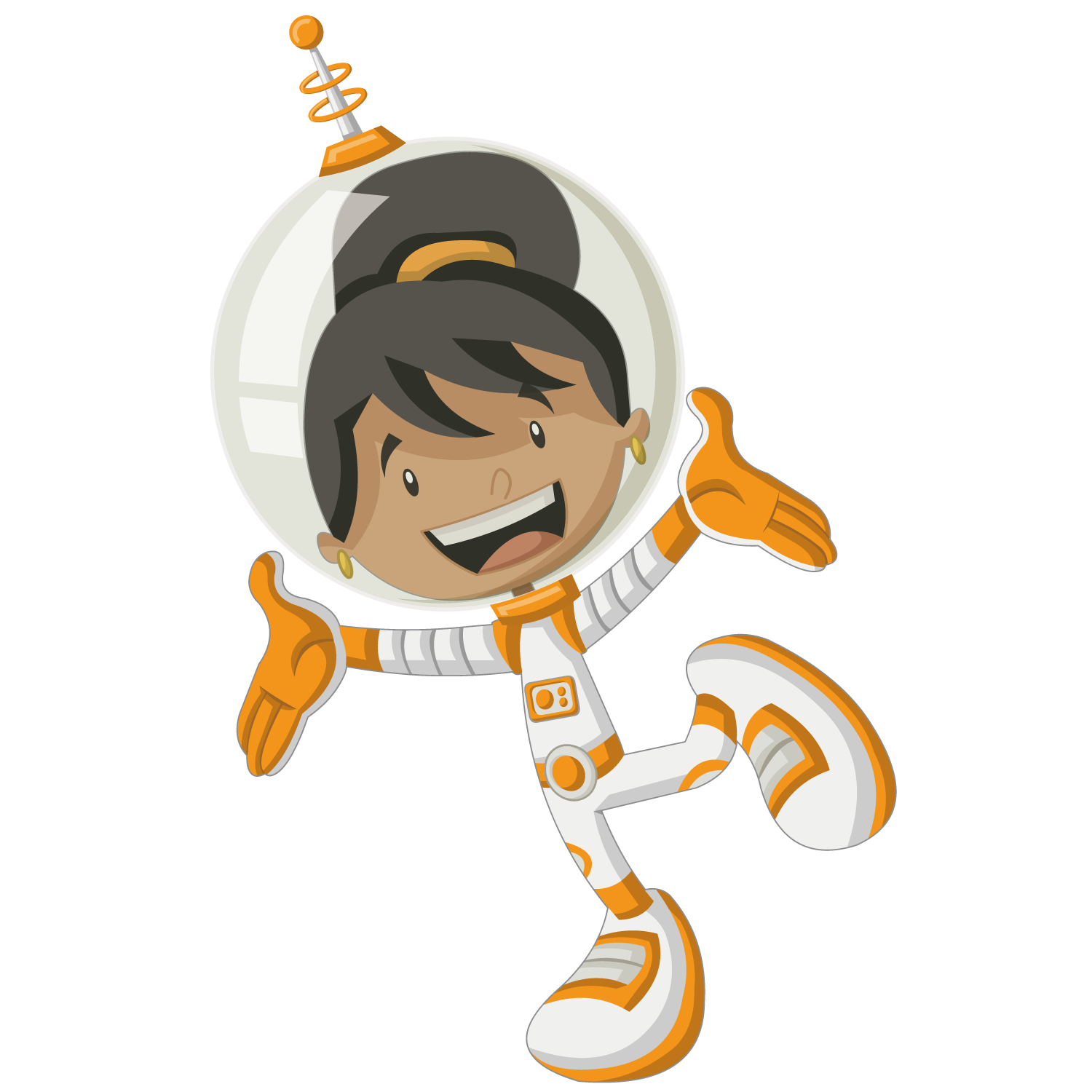 clipart library download Astronaut Woman Black Spaceflight