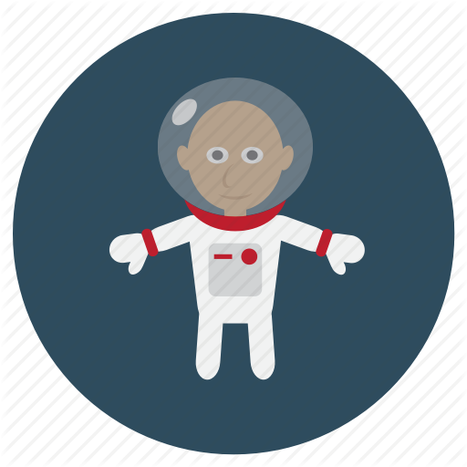 svg library library vector astronaut universe #107418434