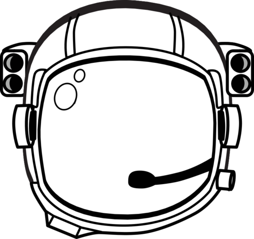 svg library stock Free astronaut