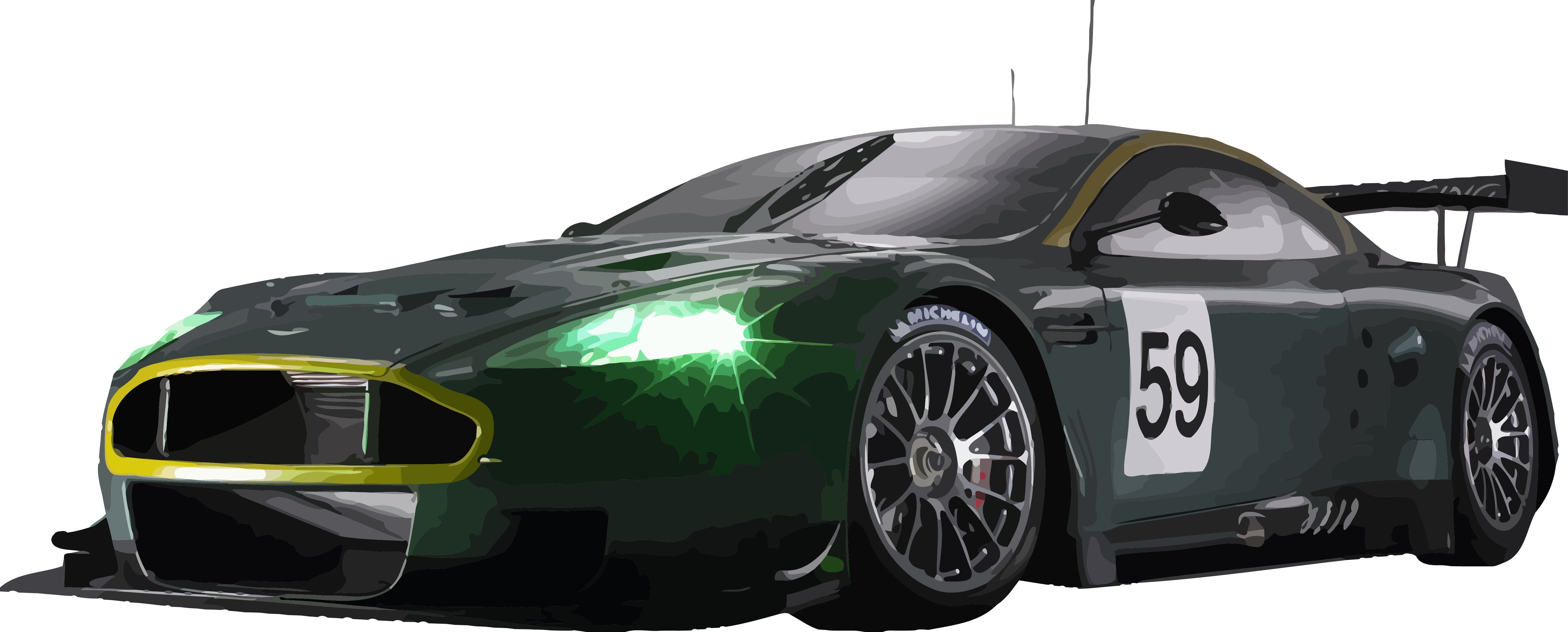 royalty free library vector automobile v8 supercar #107444358