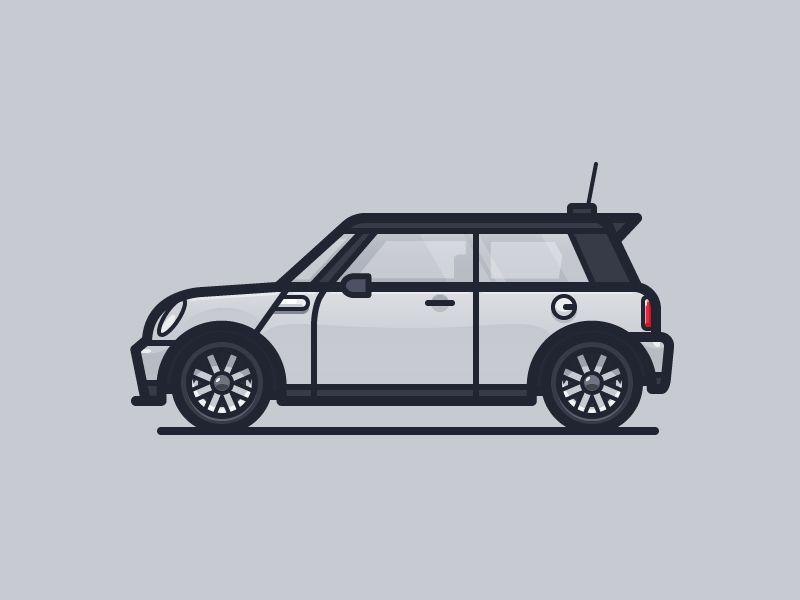 free stock Mini Cooper