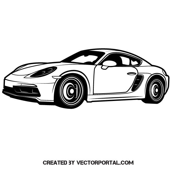 banner royalty free stock Luxury sports automobile vector image