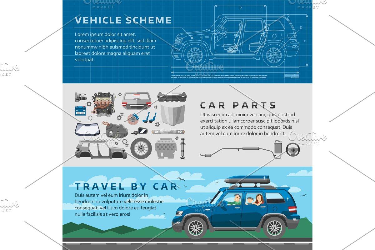 clip art free Car repair auto service vector mechanic garage worker career infographic  concept