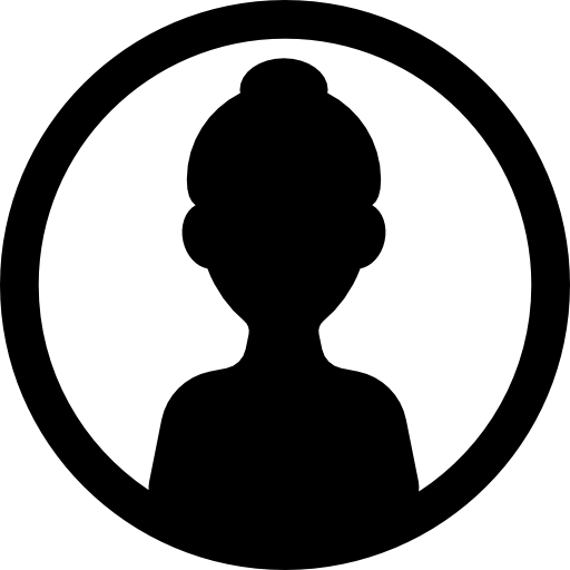 image library stock Female and free people. Vector avatar circle