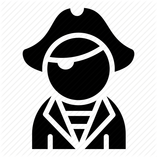 clip black and white People professional by nikita. Vector avatar eye