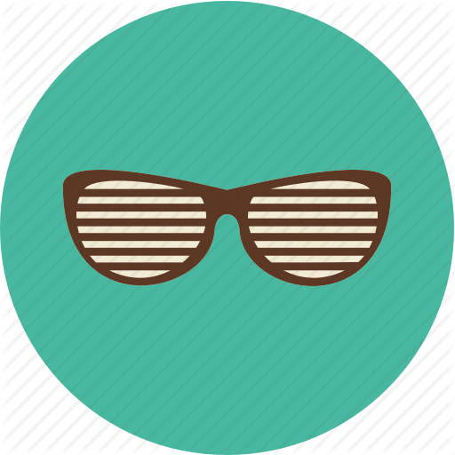 svg transparent Vector avatar face. Mustache and glasses by