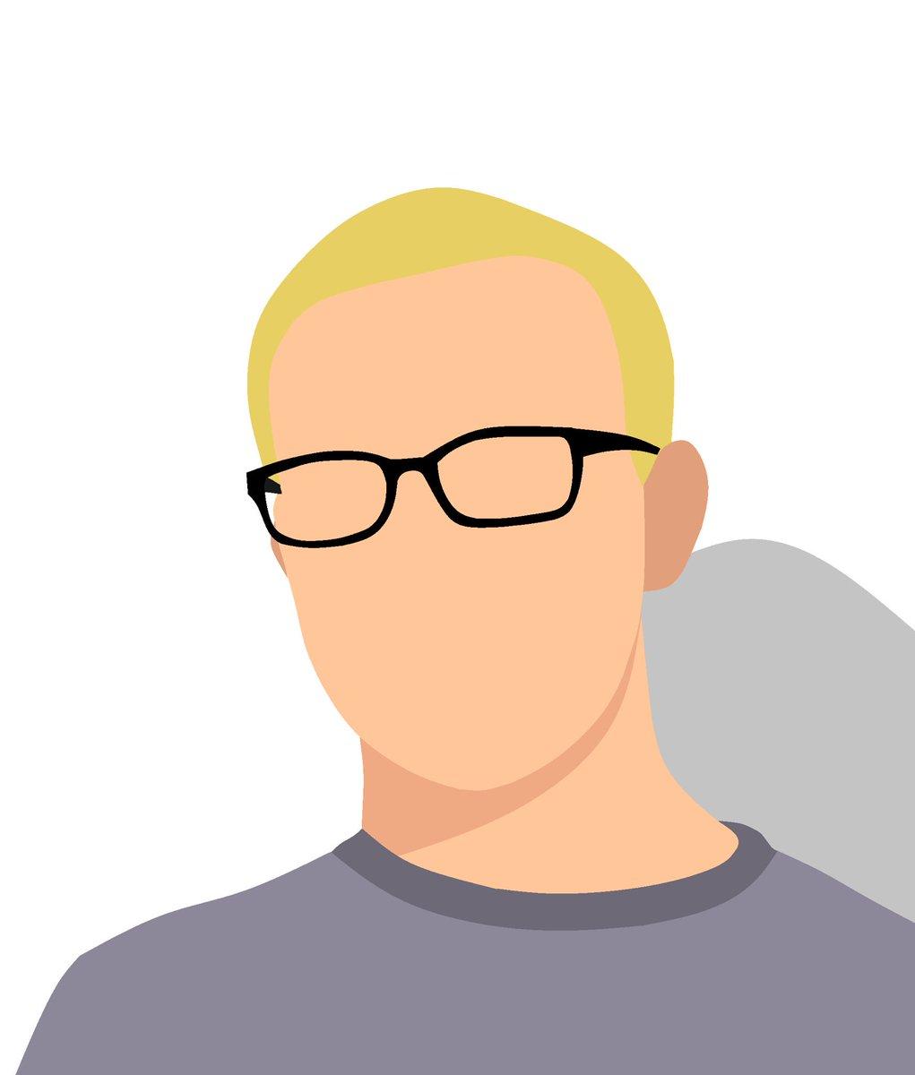 clip art freeuse download Avatars vectoravatar twitter . Vector avatar minimal