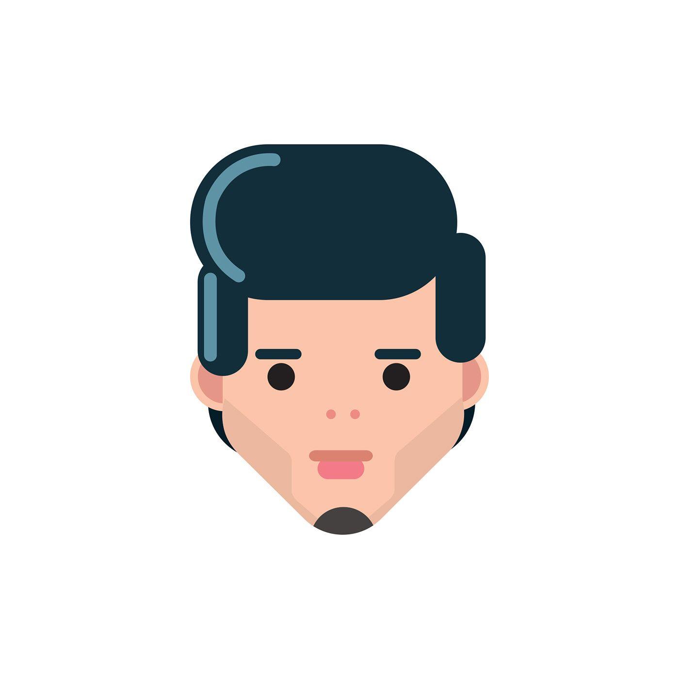 svg transparent download Vector avatar minimal. My avatars face on