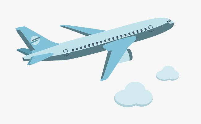 image transparent Vector aviation air craft. Flying in the plane