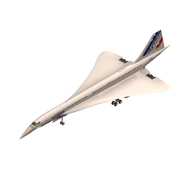 picture library library  ds max concord. Vector aviation concorde