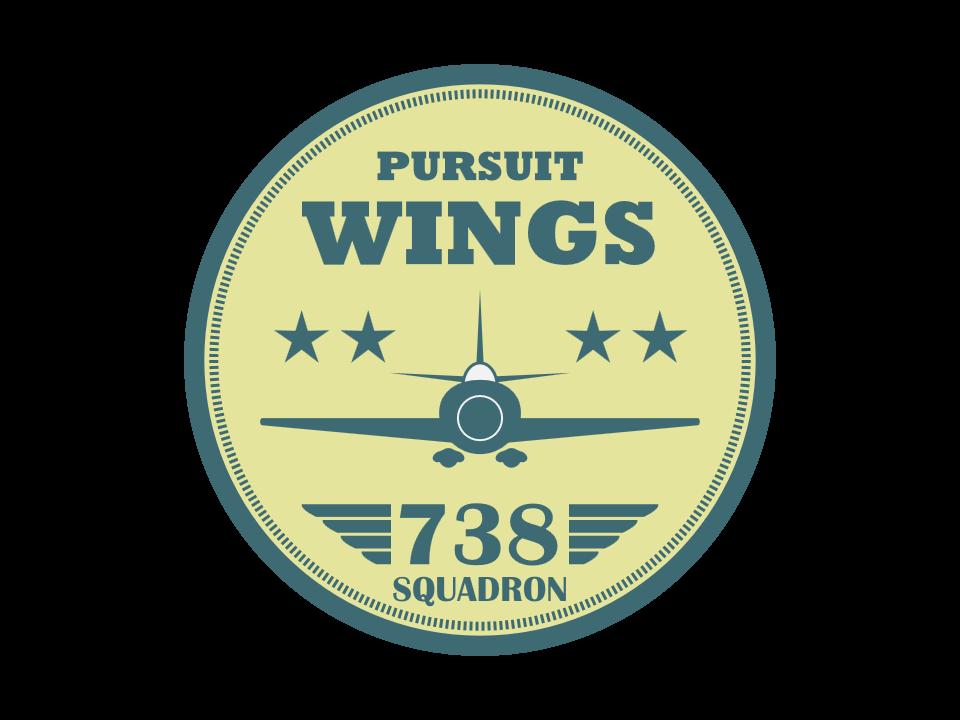 vector library Vector aviation illustrator. Badge created in adobe