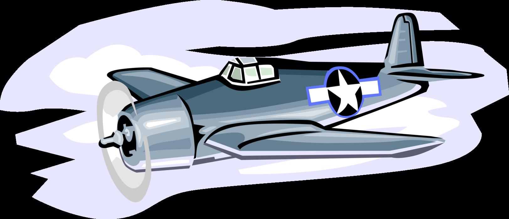 clipart freeuse library Grumman f wildcat aircraft. Vector aviation illustrator