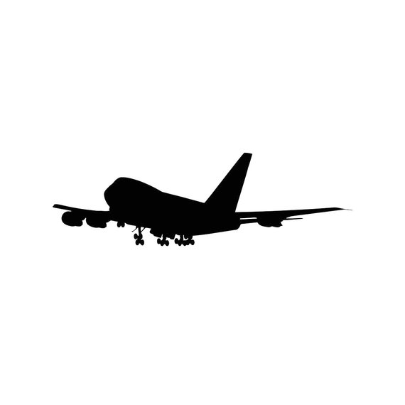 svg freeuse Vector aviation jumbo jet. Pin on products