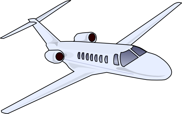 clip black and white library  aircraft private jet. Vector aviation perth