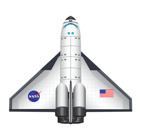 vector free download  space shuttle png. Vector aviation spaceship nasa