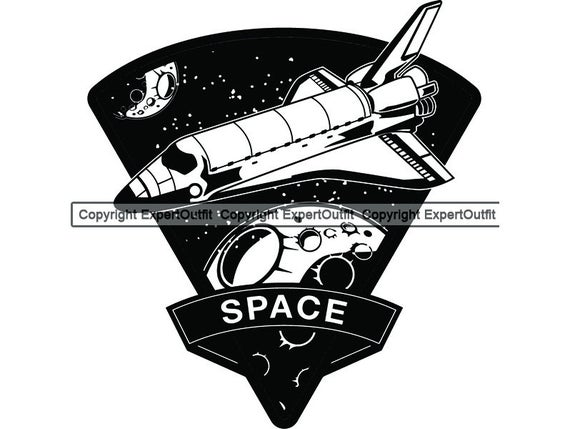 clip art free Vector aviation spaceship nasa. Space exploration astronaut shuttle
