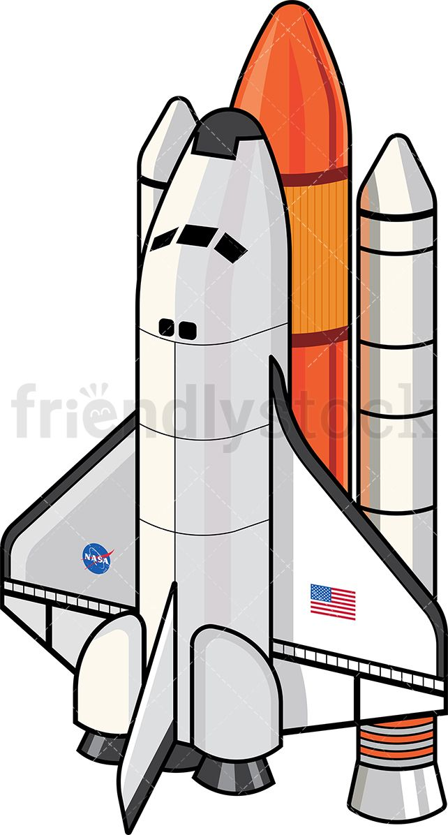 banner black and white Vector aviation spaceship nasa. Space shuttle illustrations
