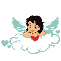 svg royalty free stock Vector baby angel. Tag free svg gallery