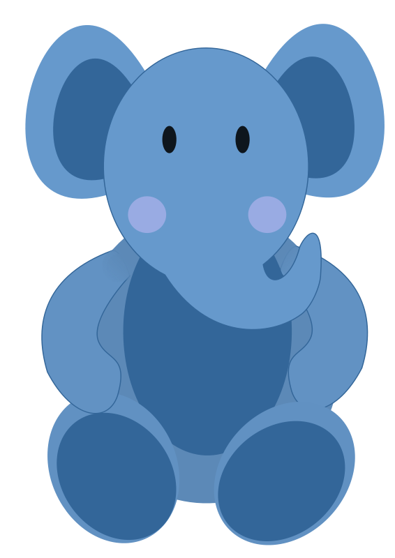 graphic royalty free stock Free elephant graphic available. Vector baby art