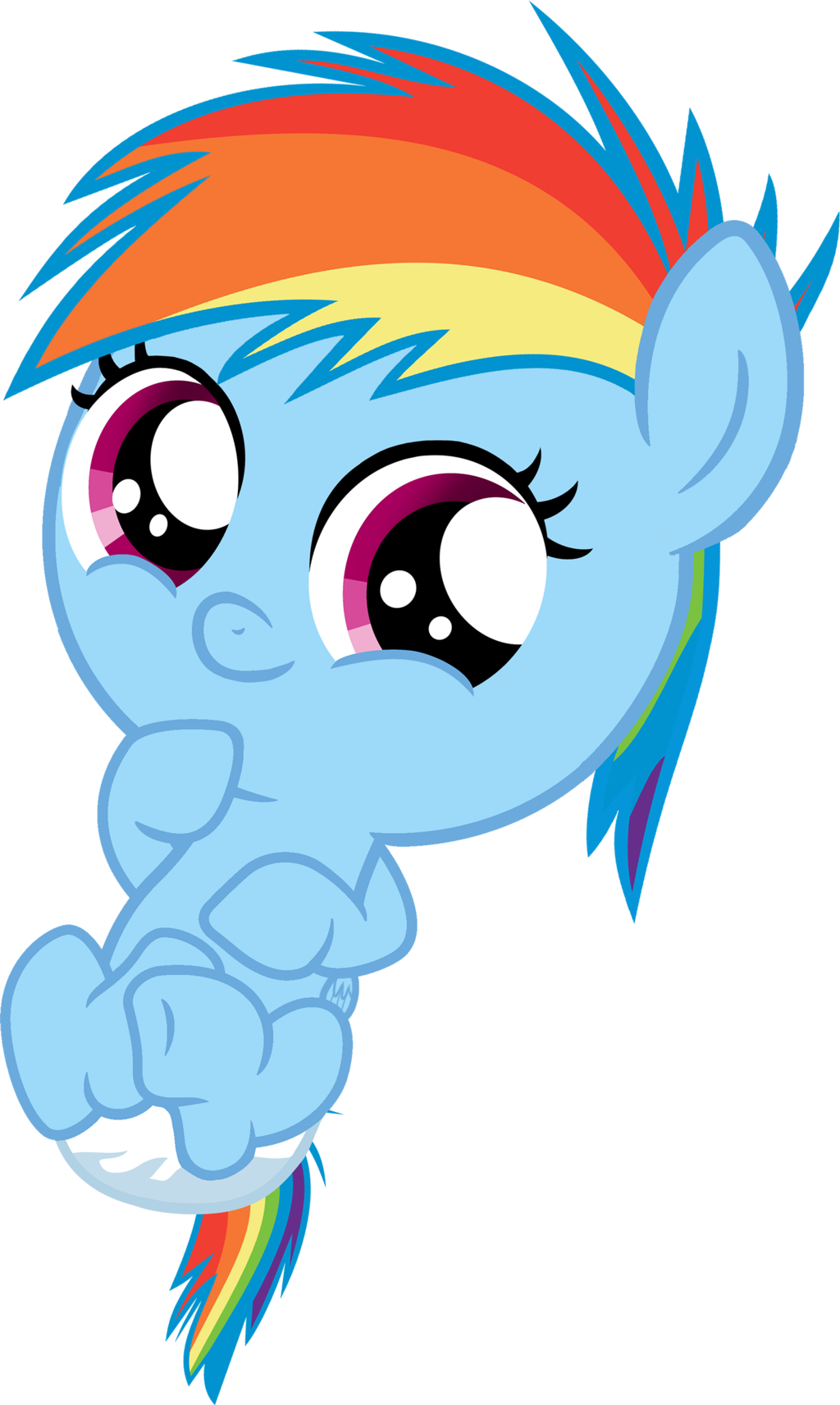png transparent Vector baby cute. Dashie by shutterflyeqd on
