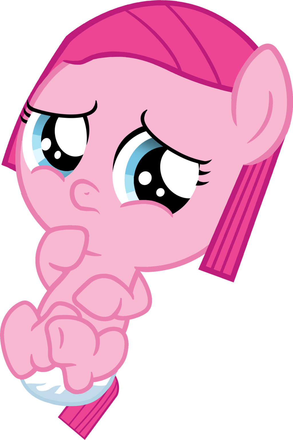 clip transparent library Pinkie pie by shutterflyeqd. Vector baby cute