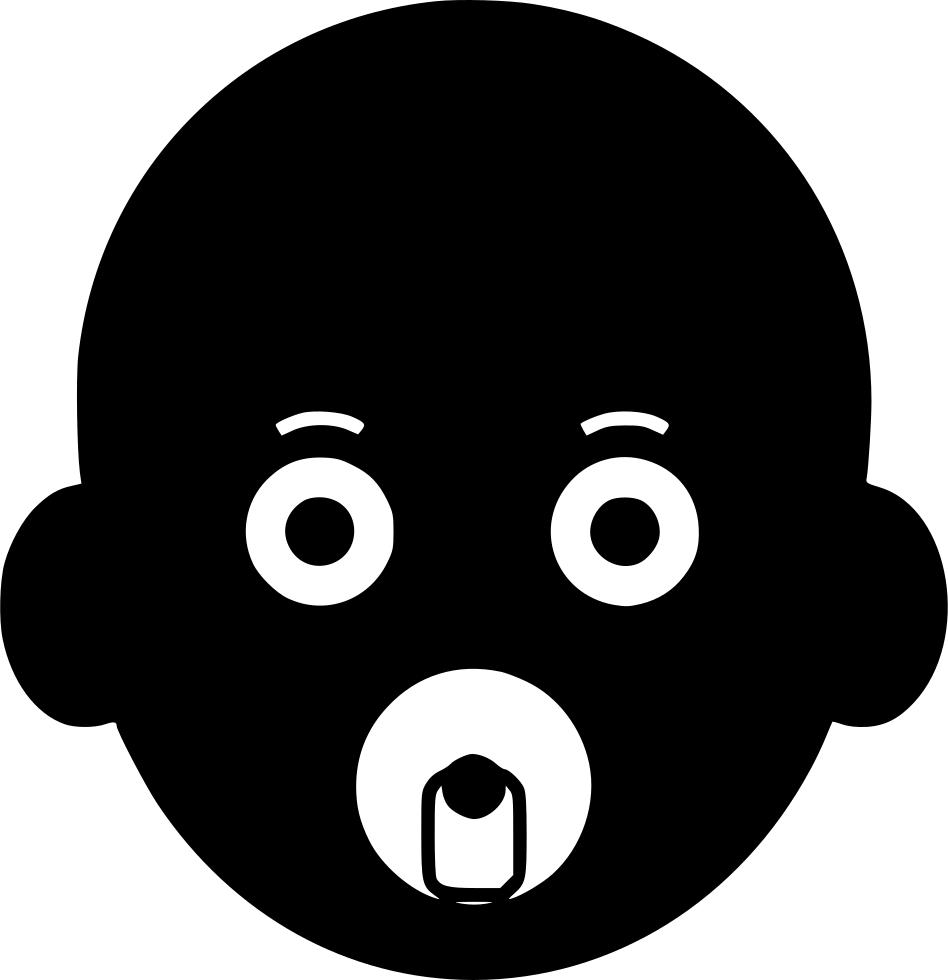 png transparent stock Newborn symbol svg png. Vector baby file