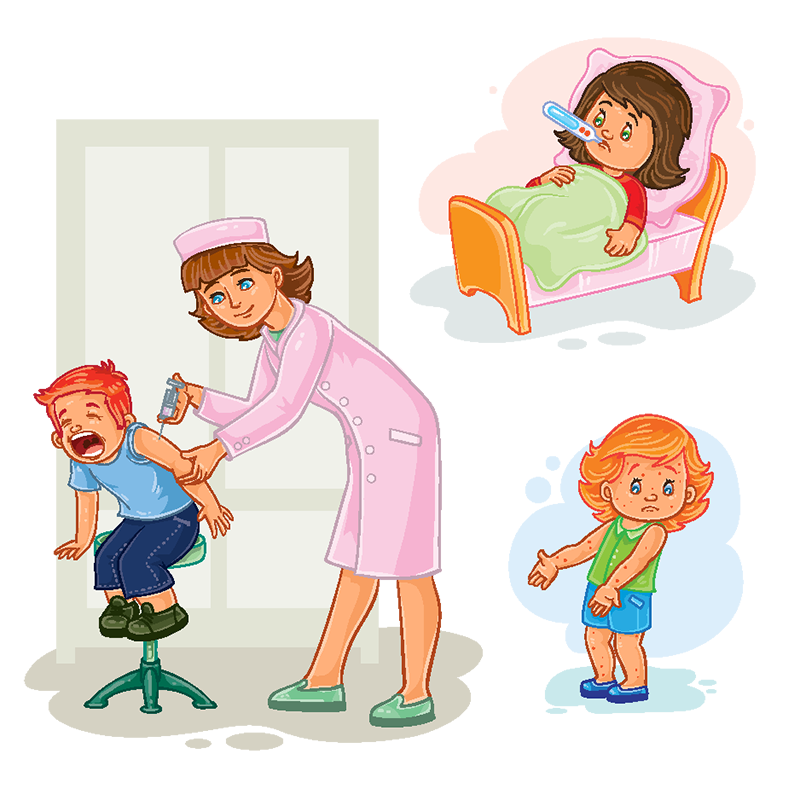 clip art stock Vector baby illustration. Books png images vectors