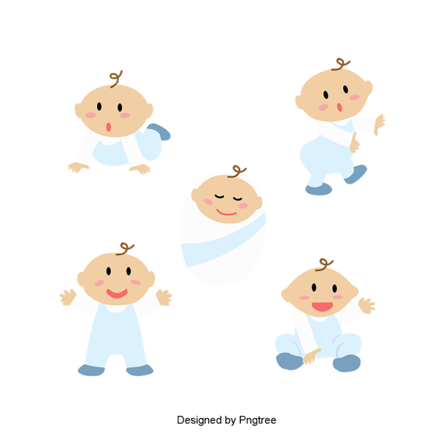 banner free library Cartoon hand painted toy. Vector baby simple