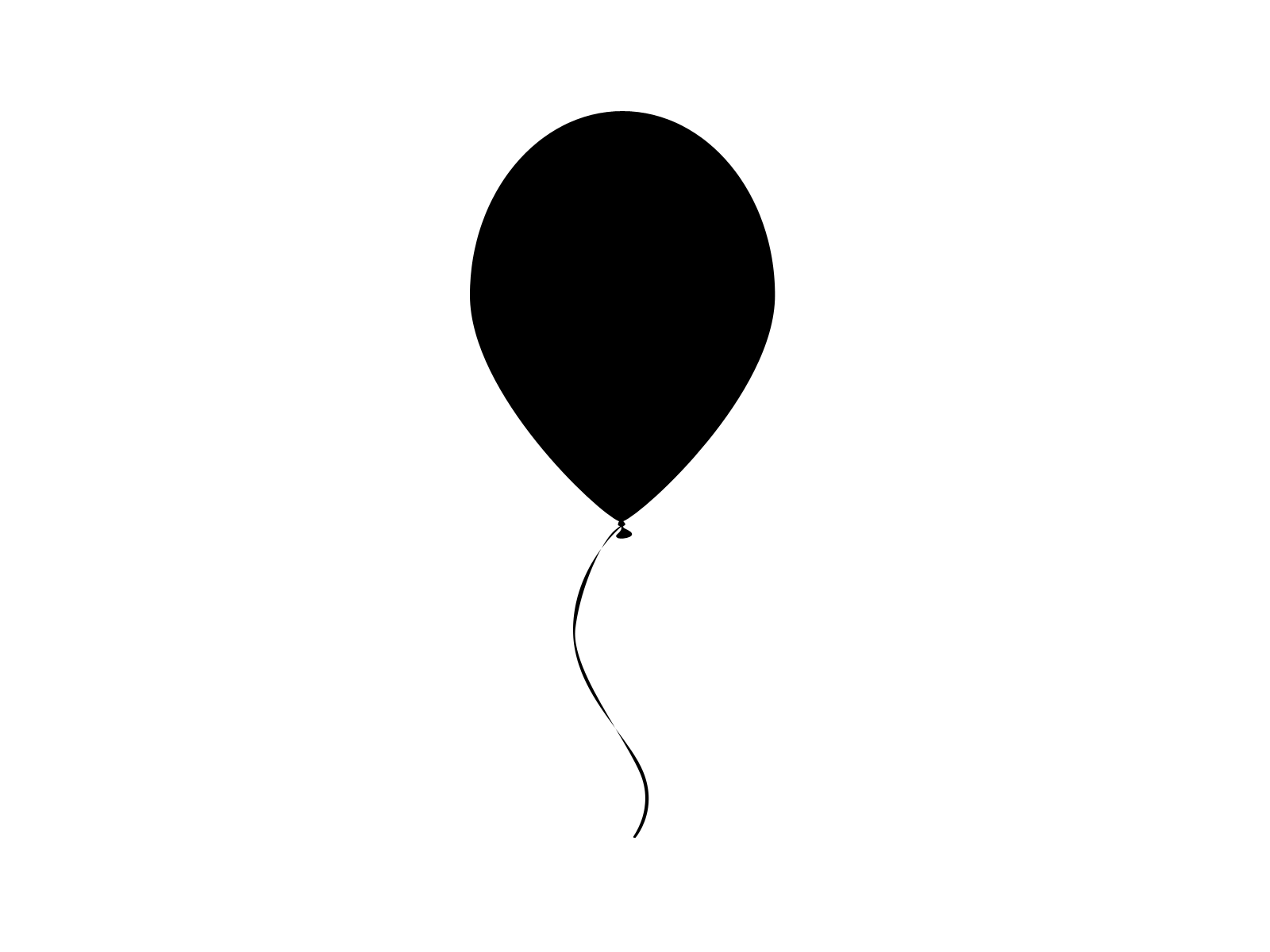 svg freeuse  outline images clip. Vector balloon black and white