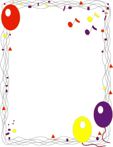 jpg freeuse Clip art online royalty. Vector balloon border