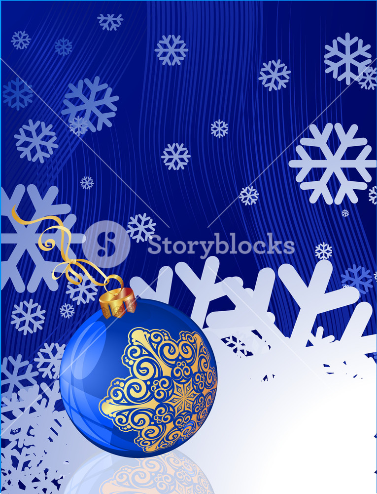 picture free stock Blue template with and. Vector balloon christmas