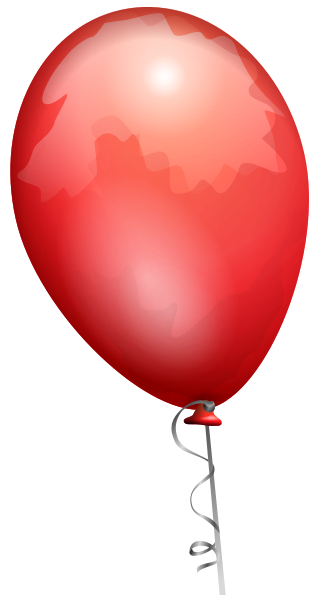 picture library download Vector balloon file. Red toy svg ilustra