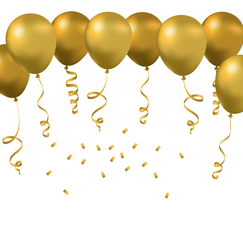 jpg free library  png for free. Vector balloon gold