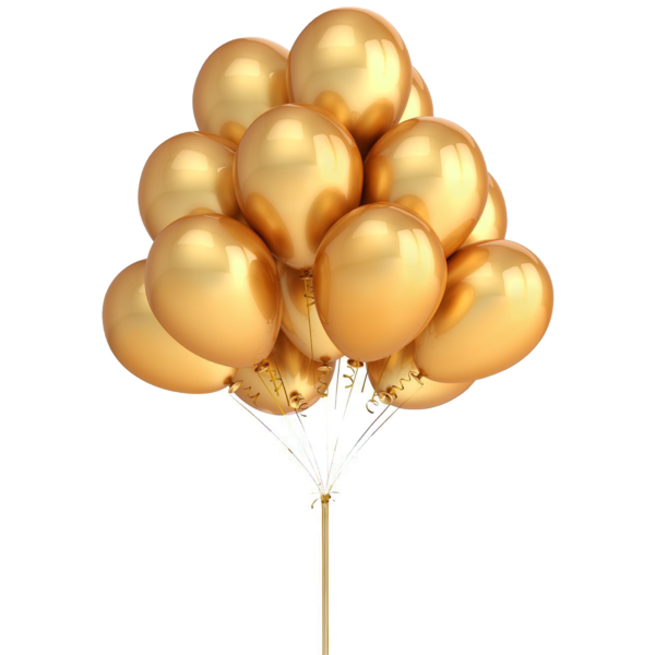 banner freeuse Vector balloon gold.  png for free