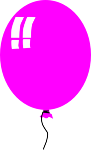 vector freeuse library Vector balloon single. Pink free images at