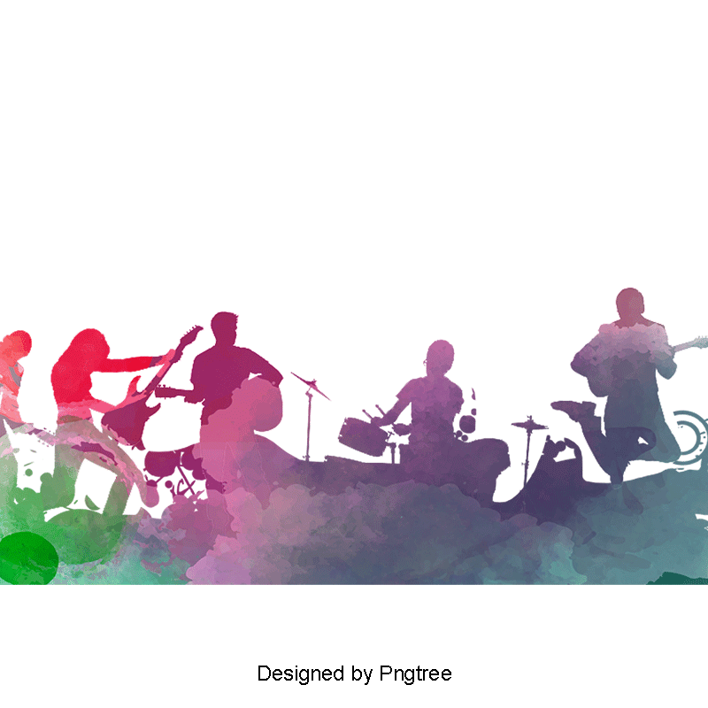 png transparent library Band png psd and. Vector bands background