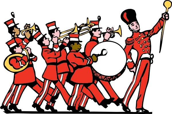 clip art free library Vector band clip art. Marching free in open