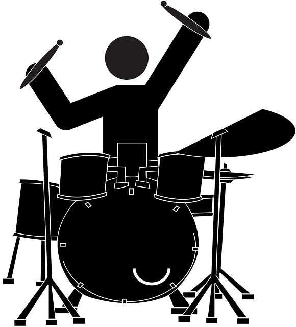 clipart free download Vector bands drummer. Free image on pixabay