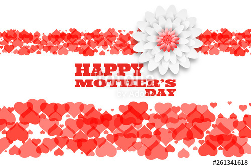 picture Happy mother s day. Vector bands text