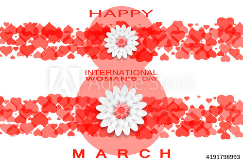 clipart library Vector bands text. Happy international women s